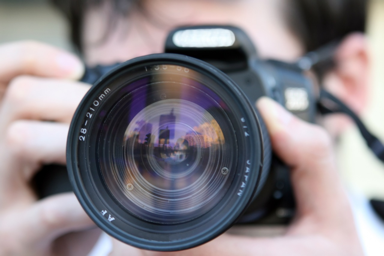 L'appareil photo : un outil qui ne se démode pas.